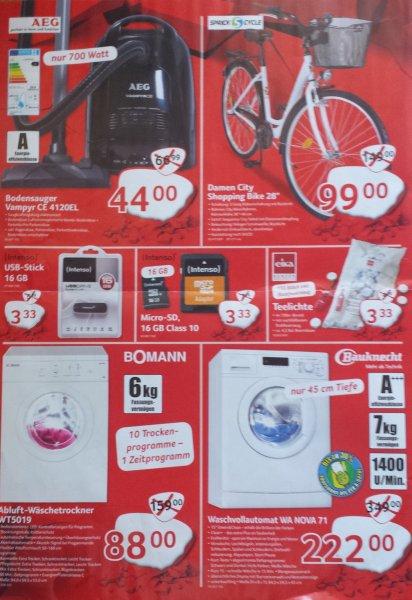 [SELGROS] LED-TV, Waschmaschinen, Trockner, Staubsauger, Smartphones deutlich unter Bestpreisen