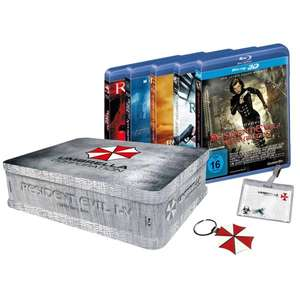 Resident Evil 1-5 Collectors Box (Blu-ray) @EMP für 58,40€