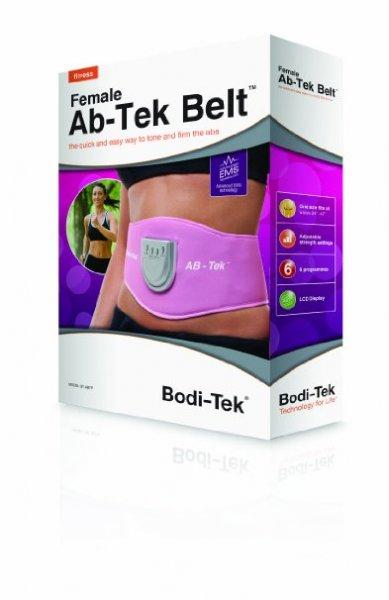 [Amazon.de-Prime] Bodi-Tek EMS-Gürtel Ab-Tek, pink