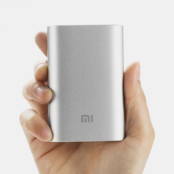 [Banggood] Original Xiaomi 10000mAh Powerbank Silber