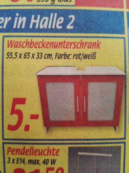 [Lokal Leer] Haka : Waschbeckenunterschrank 5€