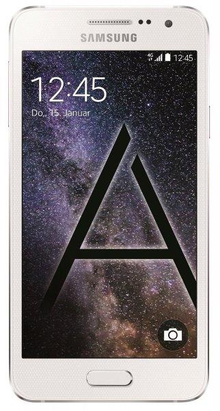 [Amazon] Samsung Galaxy A3 LTE (4,5'' qHD AMOLED, 1,2 GHz Quadcore Snapdragon 410, 1,5 GB RAM, 16 GB intern, Unibody-Metallgehäuse, Android 5.0) für 159€ *** A5 für ~210€