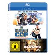 Der Kaufhaus Cop + Kindsköpfe + Der Zoowärter - (Blu-ray) für 9,99€ bei Saturn.de