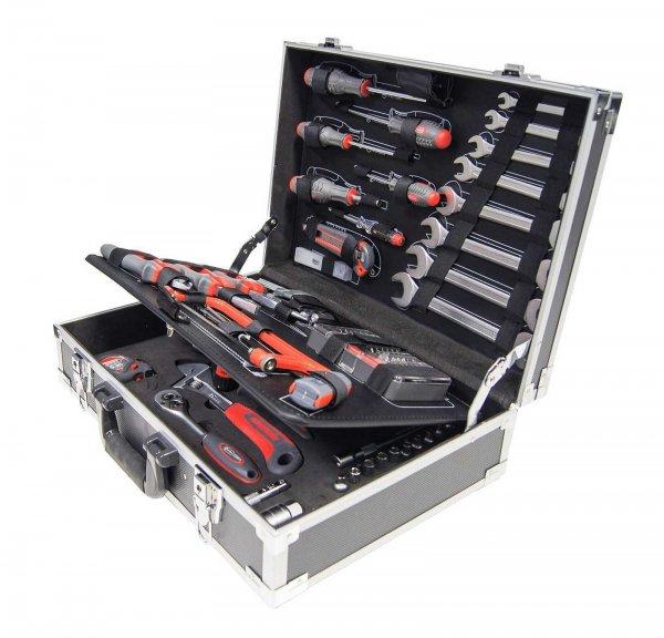 CONNEX Heimwerker-Werkzeugkoffer, bestückt mit 116 Teilen COX566166