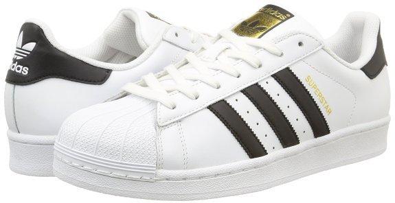 Amazon: adidas Originals Superstar Herren Sneakers in 46 2/3 für nur 52,06 €