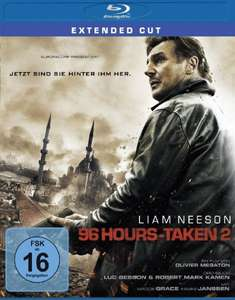 [Amazon Prime] 96 Hours - Taken 2 (Bluray, Extended Cut) für 6,95€