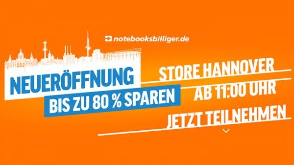 [Lokal Laatzen] bis zu 80% gegenüber dem Online-Preis bei notebooksbilliger!