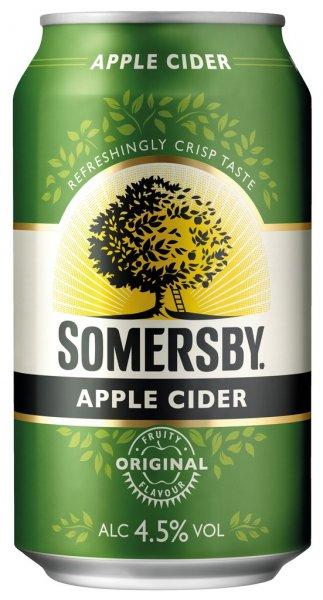 Somersby Cider verschiedene Sorten, 24 x 0,33 ltr.