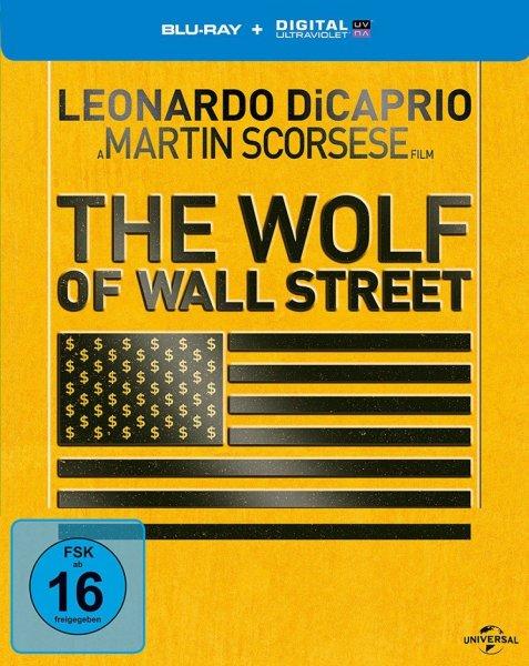 The Wolf of Wall Street (Steelbook BluRay) für 11,96€ inkl. VSK bei media-dealer.de