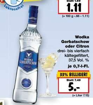 [KAUFLAND BY/BW] KW47: Wodka Gorbatschow 0,7l für 5,00€/5,55€ und Buitoni Teigwaren 500g für 0,59€