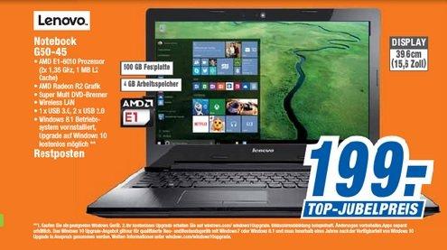 [Lokal - Expert Region Hannover] Lenovo G50-45 Notebook