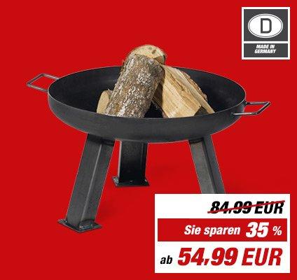 Deutschlandweit - TOOM Baumarkt - Feuerschale ca. 55 x 35 cm (Ø x H), 8,5 kg - 35% oder mit Gutschein nur 44€ ( + 1€ Zeitung zahlen )
