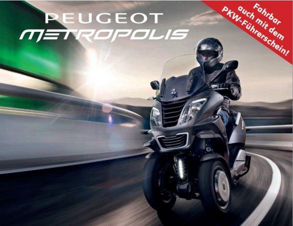 Peugeot Metropolis 400ccm 2016er Version
