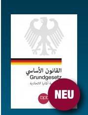 [BPB] Das Grundgesetz auf Arabisch (VSK frei bis 1Kg Paketgewicht)