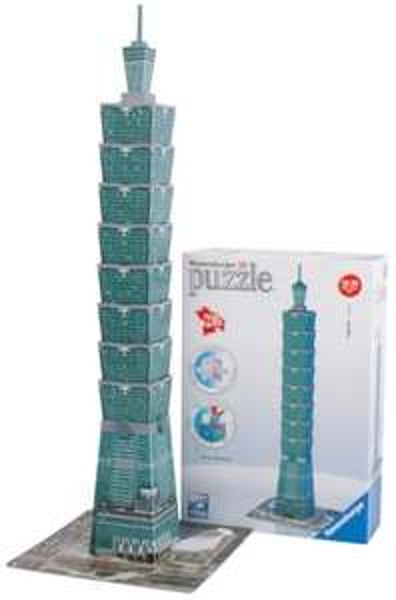 [Amazon] Ravensburger 12558 Taipei 101 - 216 tlg. 3D Puzzle für 9,99€ - FÜR PRIME VSK frei