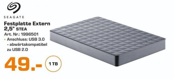 [Lokal Köln] Saturn Köln - Seagate Expansion Portable 1TB für 49€