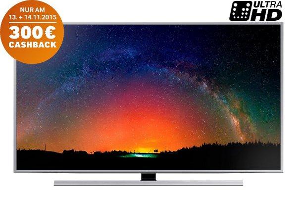 Samsung UE55JS8090 SUHD TV für 1.999€ mit 300€ Samsung Cashback (Endpreis 1.699€) / oder UE55JS9090 für 2.399 mit 400€ CB (=1.999€) + 29€ Versand oder kostenlose Abholung