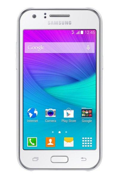 Samsung Galaxy J1 Weiß Handy für Tochter, Mutti oder Omi 84€ @amazon.it