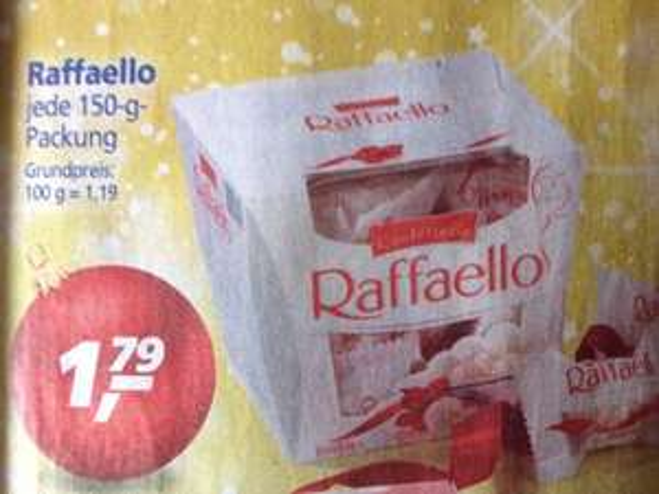(Real)Rafaello Für 1,79€