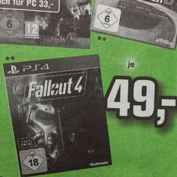 [Lokal] PS4/XBOne Fallout 4 im Alpha Tecc WND