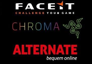 Razer Diamondback, Kraken Pro 2015 und BlackWidow Chroma Tournament Edition bei Alternate