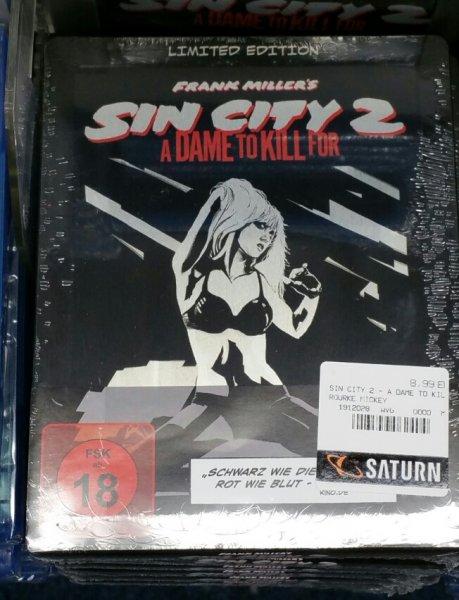 [Lokal] Saturn Berlin Blu-ray Sin City Steelbook 8.99€ Sherlock Staffel 1+2 für je 9.99€