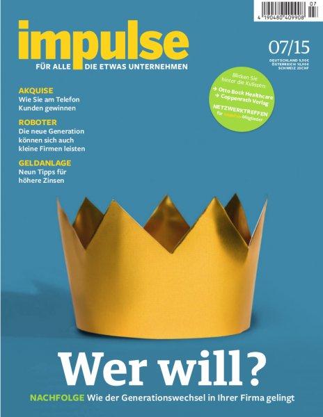 """Zeitschrift """"impulse"""" wieder kostenfrei verfügbar"""