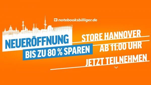 [Lokal Hannover] notebooksbilliger.de Store Hannover Neueröffnung z.B: 10€ Xbox Guthaben für 3€