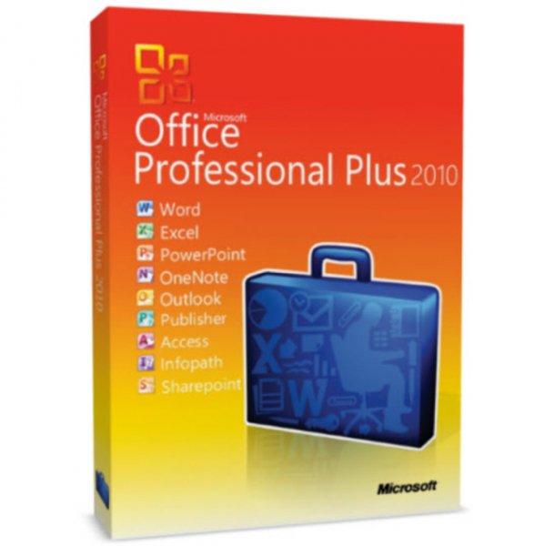 Für (37,85€) Office 2010 Professional Plus Vollversion Deutsch [ebay.de]