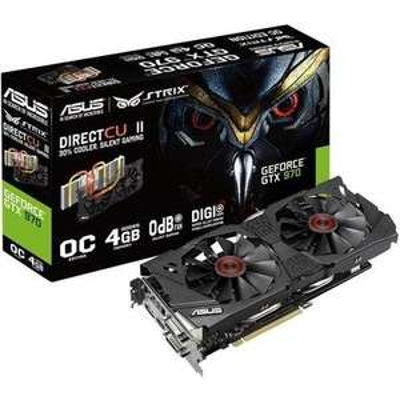 Asus Nvidia GeForce GTX970 Strix Overclocked 4 GB mit ASUS Cashback Aktion für effektiv 317,62€