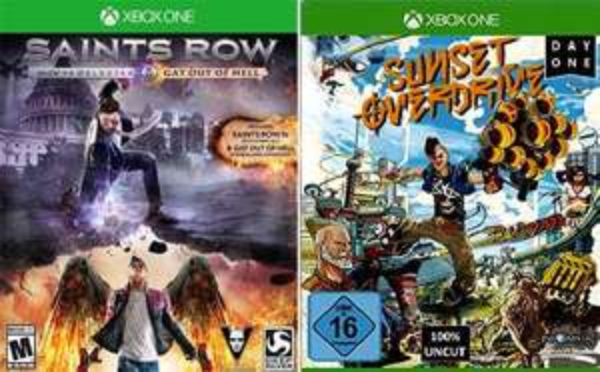 [Thalia/Bol/Buch]Sunset Overdrive D1 Xbox One für 16,99€ & Saints Row IV Re-elected Xbox One für 18,99€