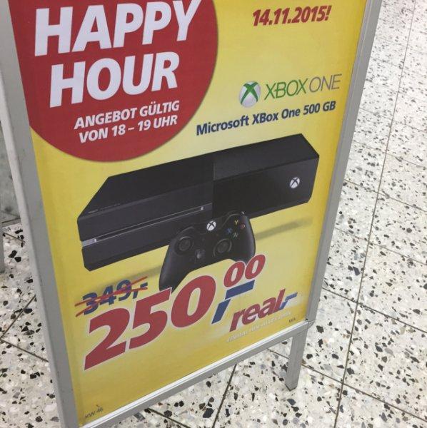 Real Eschweiler Lokal? XBox One 500GB nur diesen Samstag