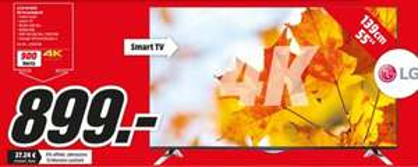lokal (MM LU,MA,WO) LG 55UF6959 LED TV (Flat, 55 Zoll, UHD 4K, SMART TV)