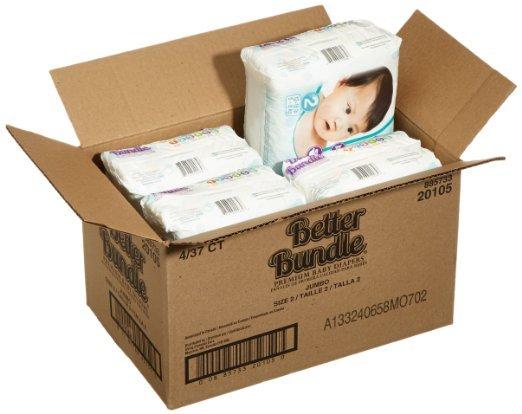 [Amazon.de-Prime-Sparabo] babies best Better Bundle Windeln Gr.2 Mini 5-8 kg, 148 Windeln ab 7,90€