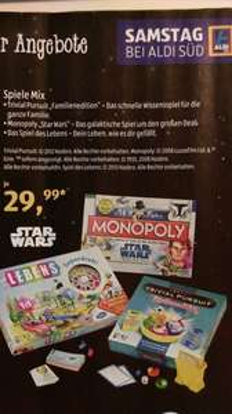 [Aldi Süd] Monopoly Star Wars - The Clone Wars (Brettspiel)