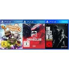 [ZackZack) PS4 Spielebundle mit Little Big Planet 3,Driveclub und The Last of Us für 44,94€ .Inc.Versand