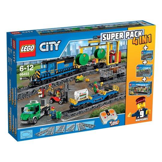LEGO City, 66493 Super-Pack 4 in 1 beim Real für 179 Euro, mit  10 %-Gutschein  161,10 Euro