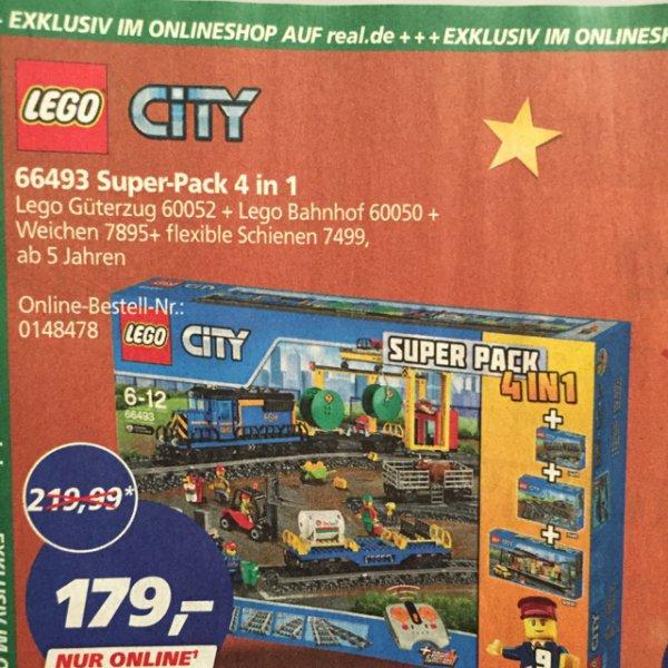[real.de] [nur online] 66493 Lego City Superpack 4 in 1