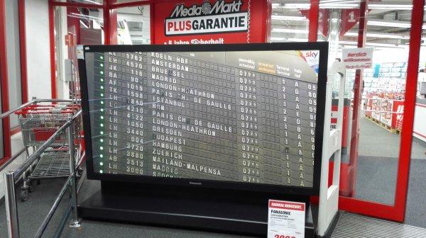 [Media Markt Braunschweig] 103 Zoll,  Full HD TV von Panasonic (TH 103 PF9EK-SO) € 77.000 reduziert