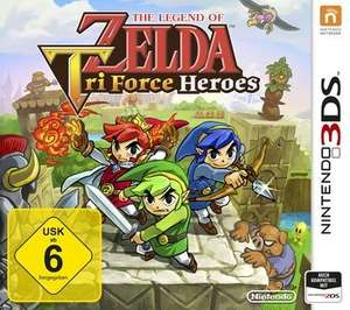 [Saturn] The Legend of Zelda: Tri Force Heroes - Nintendo 3DS für 27,99€ Versandekostenfrei