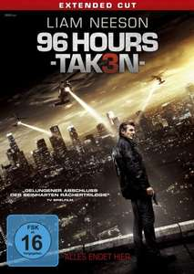 [Amazon Prime] 96 Hours - Taken 3 (Bluray, Extended Cut) für 9,99€