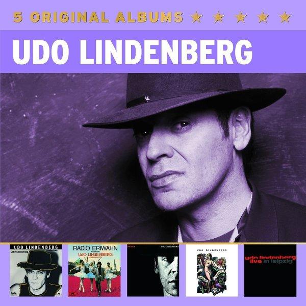 Amazon Prime : CD Udo Lindenberg  -2 verschiedene Original Album Classics 5 er Box-Set - je Nur 9,97 €