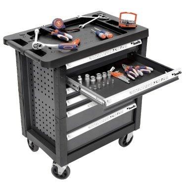 [Amazon] kwb Werkstattwagen inklusive 129 Teile Werkzeug-Set