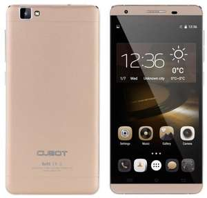 """CUBOT X15 5,5"""" Android 5.1 Smartphone weiß/gold"""