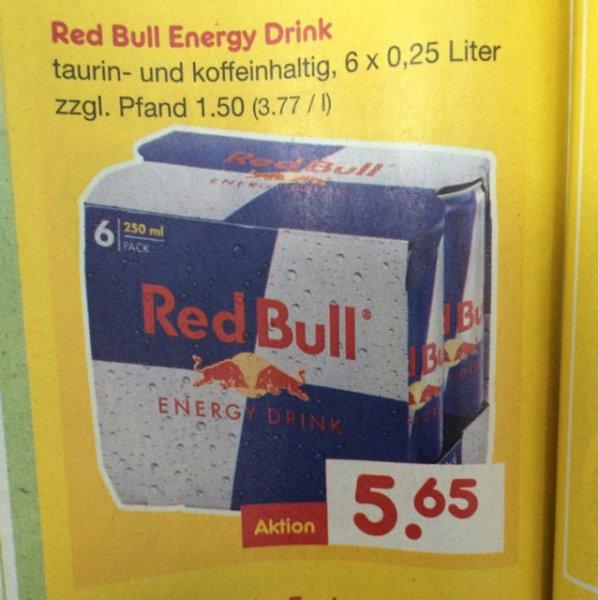 Netto ohne Hund Red Bull 0,25 Dose nur 0,75€(offline)