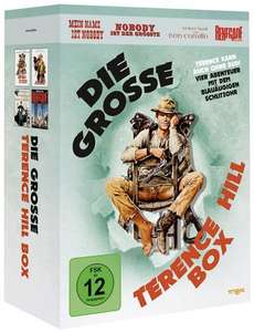 [media-dealer Sammeldeal] z.B. Die grosse Terence Hill-Box (DVD) für 13,97 €