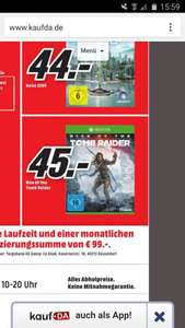 Rise Of The Tomb Raider (Lokal Hildesheim) 45 Euro