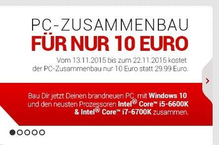 [hardwareversand.de]Zusammenbau für 10€ statt 29,99€