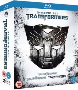 Transformers 1-3 Blu Ray Box (zavvi.com)