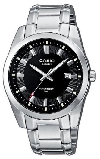 [amazon.de] Casio Collection BEM-116D-1AVEF Herren Edelstahluhr für 30,10€ incl.Versand!
